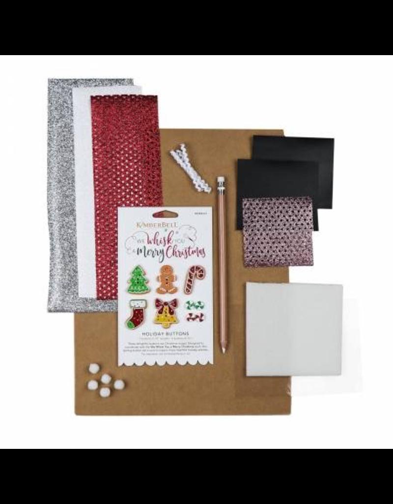 We Whisk You a Merry Christmas Embellishment Kit - Kimberbell Designs