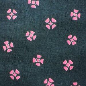 Pinwheels Pink Double Gauze - Rough Cut - Ellen Baker