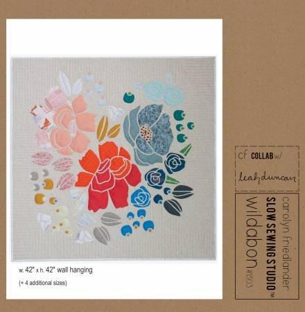 Wildabon Quilt Pattern by Carolyn Friedlander