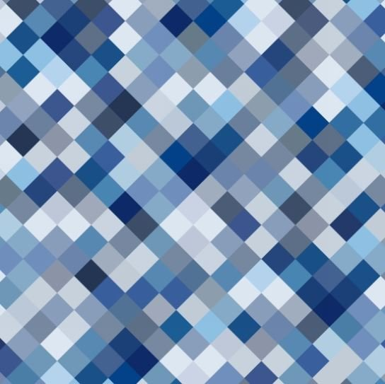 Blank Hopscotch 108 Backing Fabric Blue 8743W-077