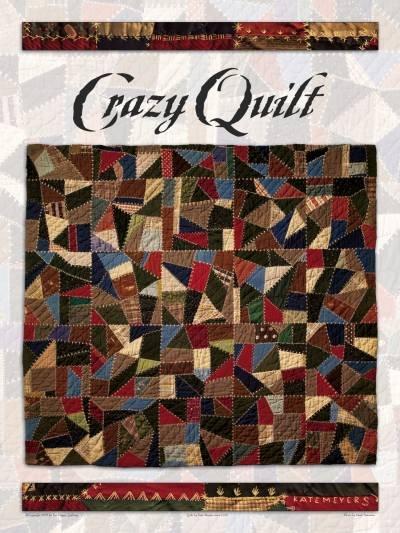 Crazy Quilt Poster...BOGO Special