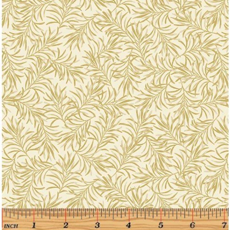 108 Benartex - Boughs of Beauty - Beige-9661W07- Wide Back Fabric