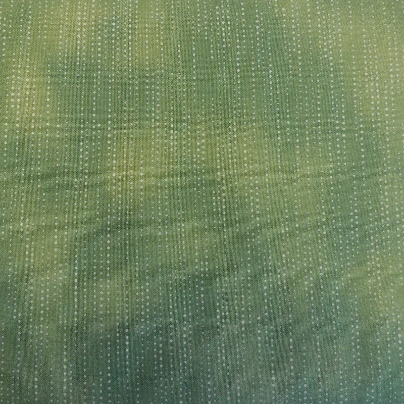 Blank Quilters Basics Green Dot Fabric 4514 808