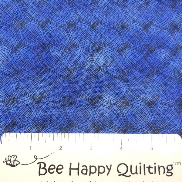 P & B Blue Mesh Fabric 26703