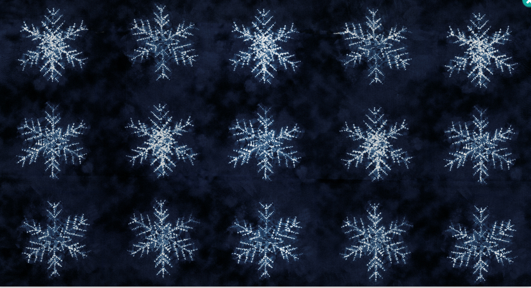 Yuki Seppen Fabric Panel Neibi 48020 15 Moda Dark Blue 23 x 44