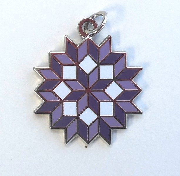 Carpenter's Wheel Quilt Charm
