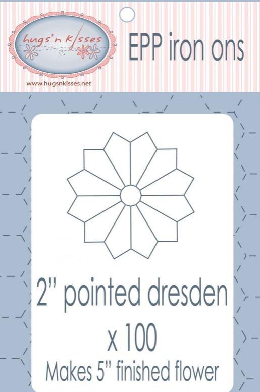 EPP Washaway 2  Dresden Plate 100ct