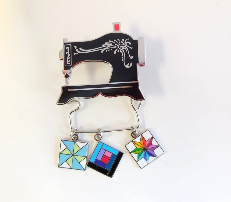 Charm Holder Sewing Machine Pin