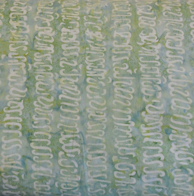 Timeless Treasures Tonga B4439 Aloe Batik Fabric