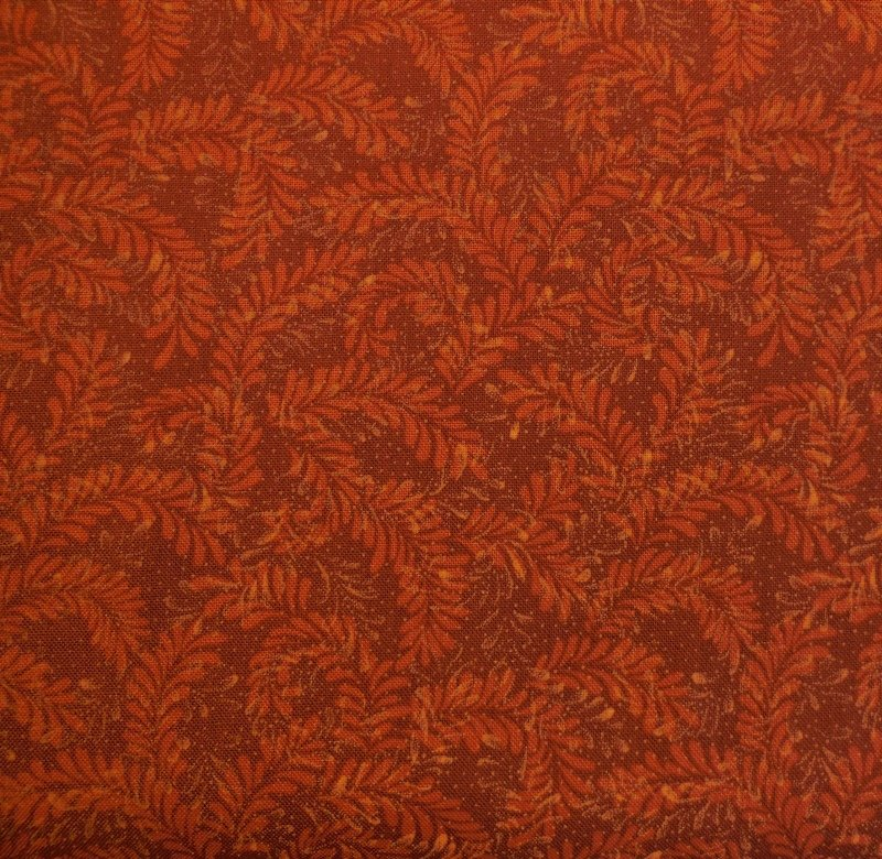 Benartex Leaf Dance Rust 0140989