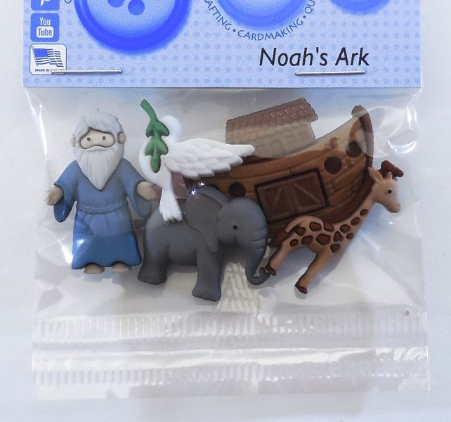 Noah's Ark Buttons