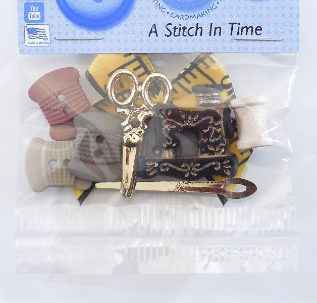A Stitch In Time Button Pack  10ct