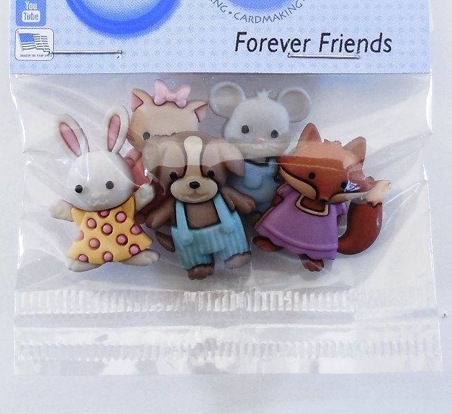 Forever Friends Buttons