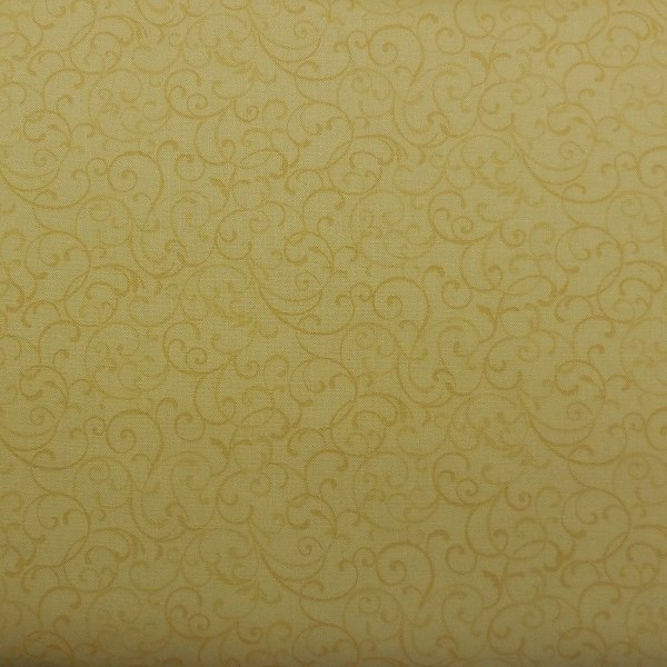 Benartex Glorious Hummingbirds Butter Yellow Fabric