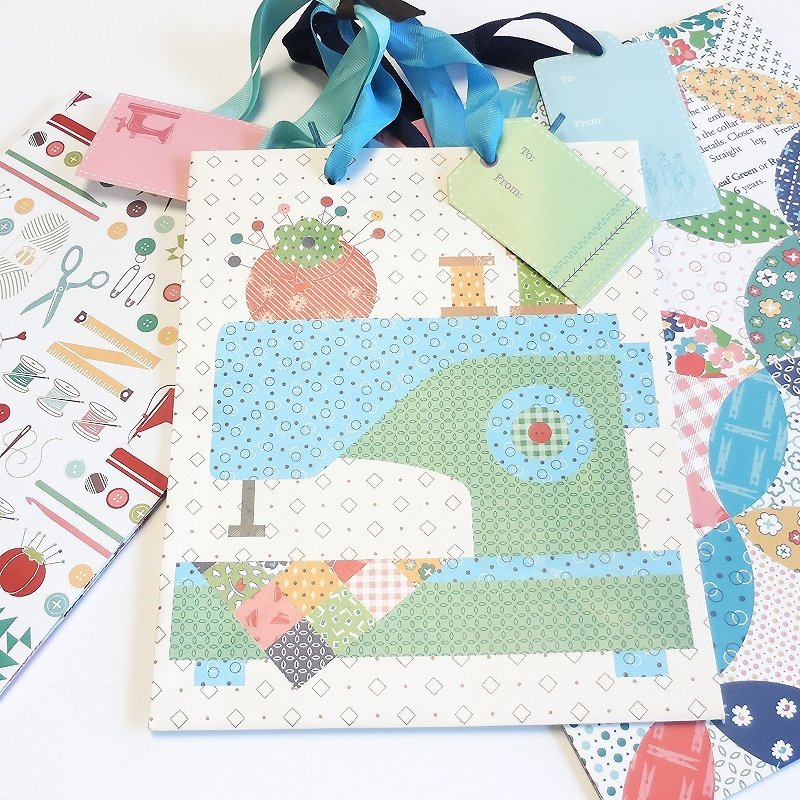 Lori Holt Gift Bag Quilty Set of 3