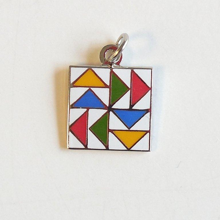 Dutchman's Puzzle Charm
