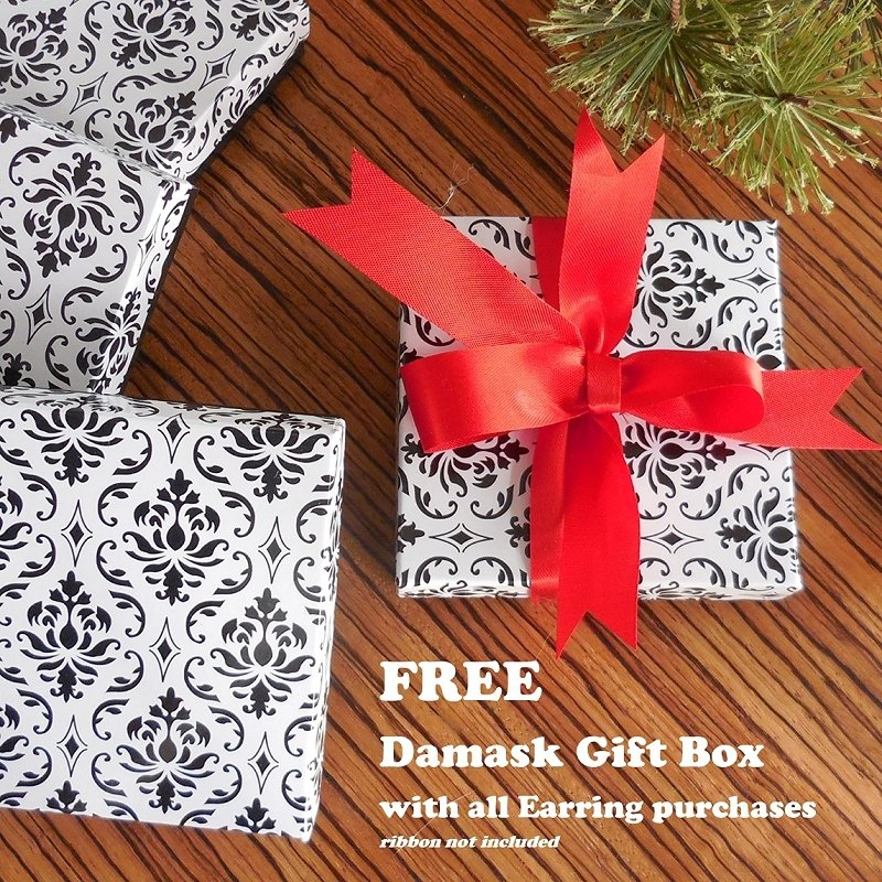 FREE Gift Box with all Earring Purchases