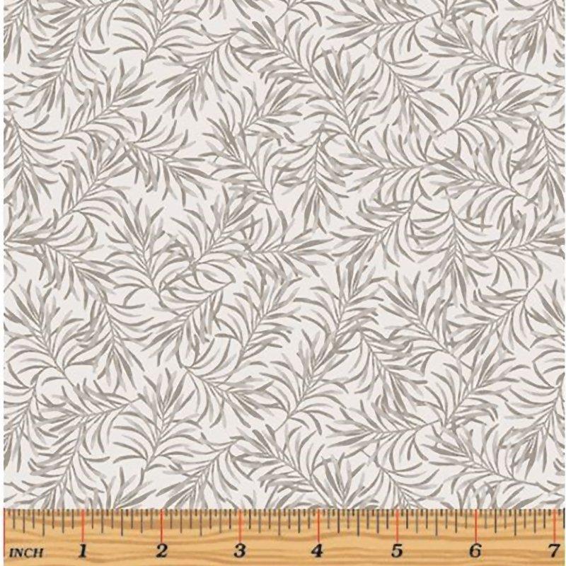 108 Benartex - Boughs of Beauty - Gray Mist-9661W13- Wide Back Fabric