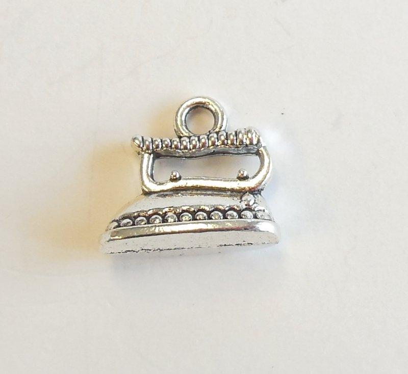 Iron Charm Tibetan Silver