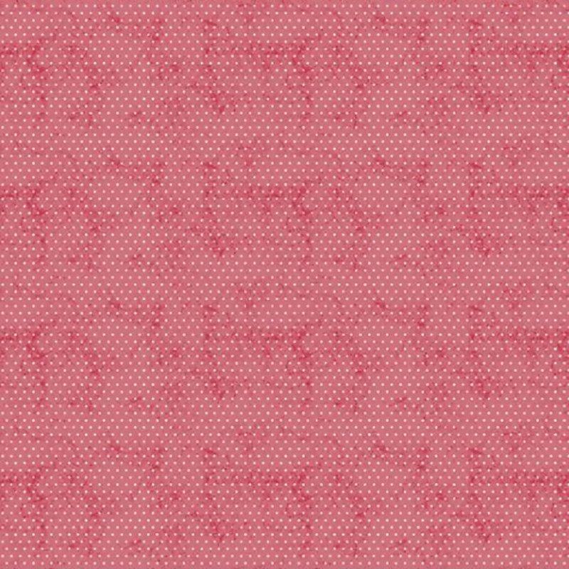 Botanical Journal Dot Fabric - Y3244-4 Light Red