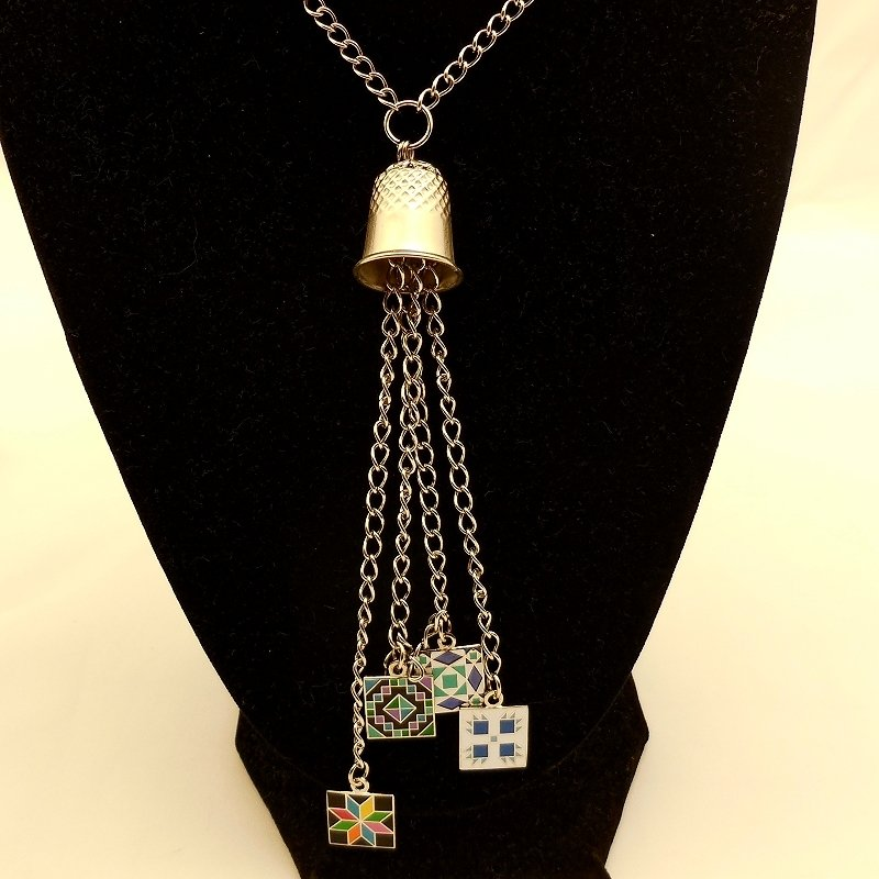 Thimble Charm Necklace