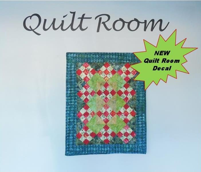 Quilt Room Decal