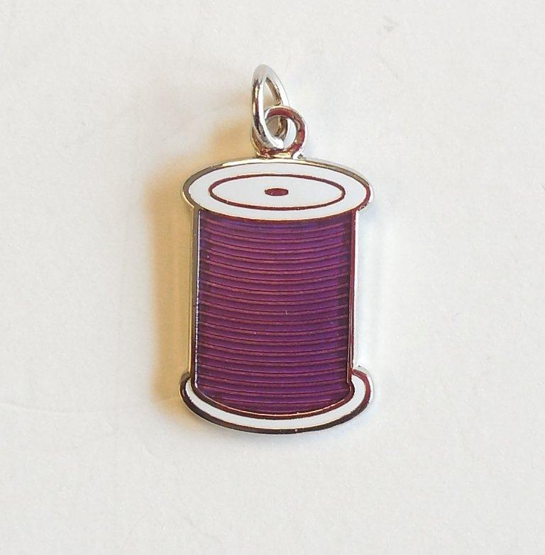 Spool Charm Purple