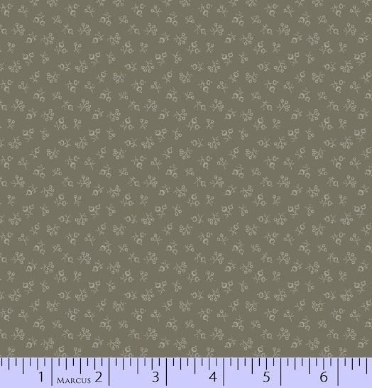 Marcus Putty and Mortar Floral Stone Grey Tonal - R54-2536-0144