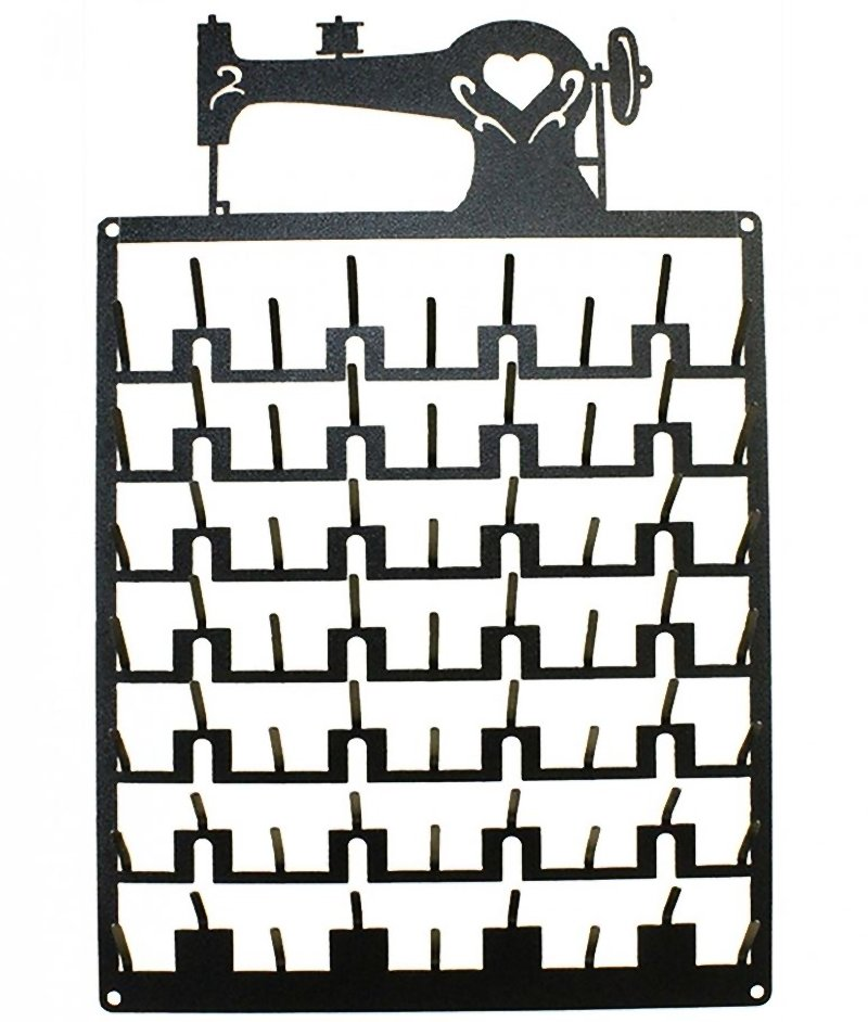 63 Pin Sewing Machine Spool Rack Charcoal