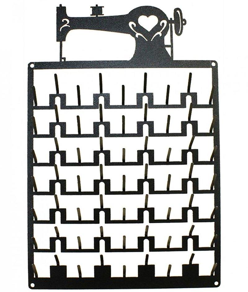 63 Pin Sewing Machine Spool Rack Charcoal