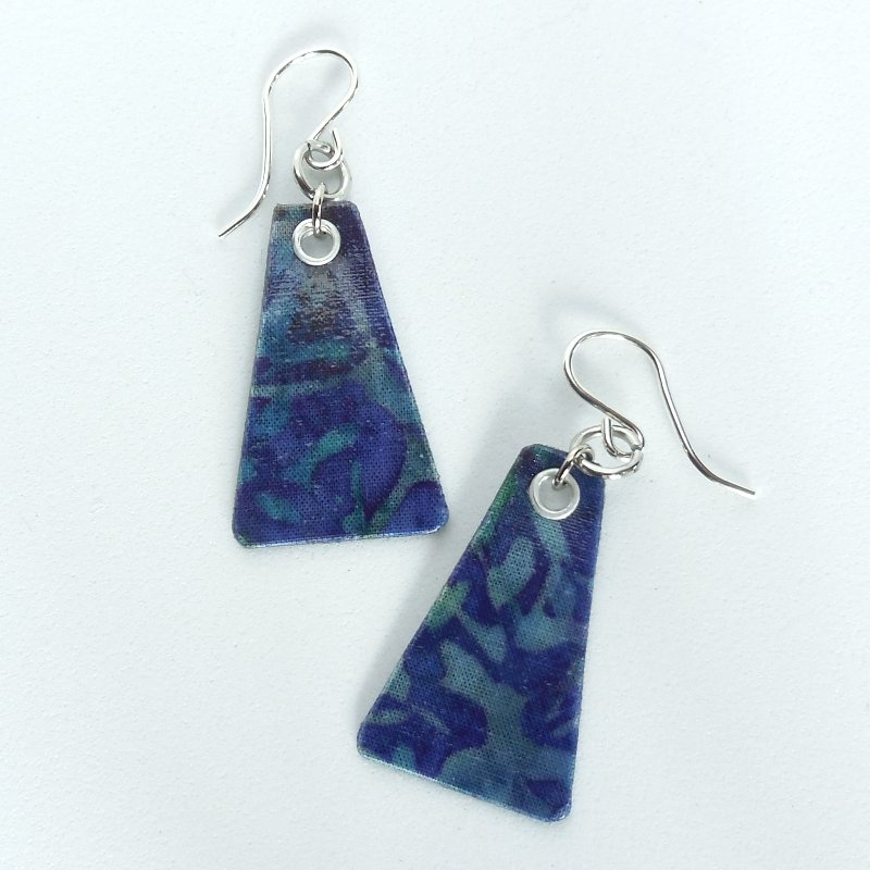 Violet Garden Tri Earrings