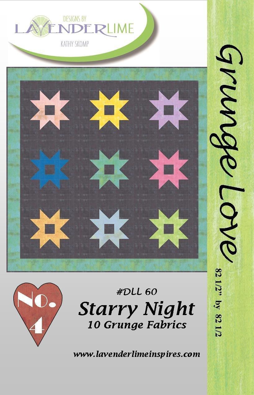 Grunge Love #4- Starry Night - PDF Download