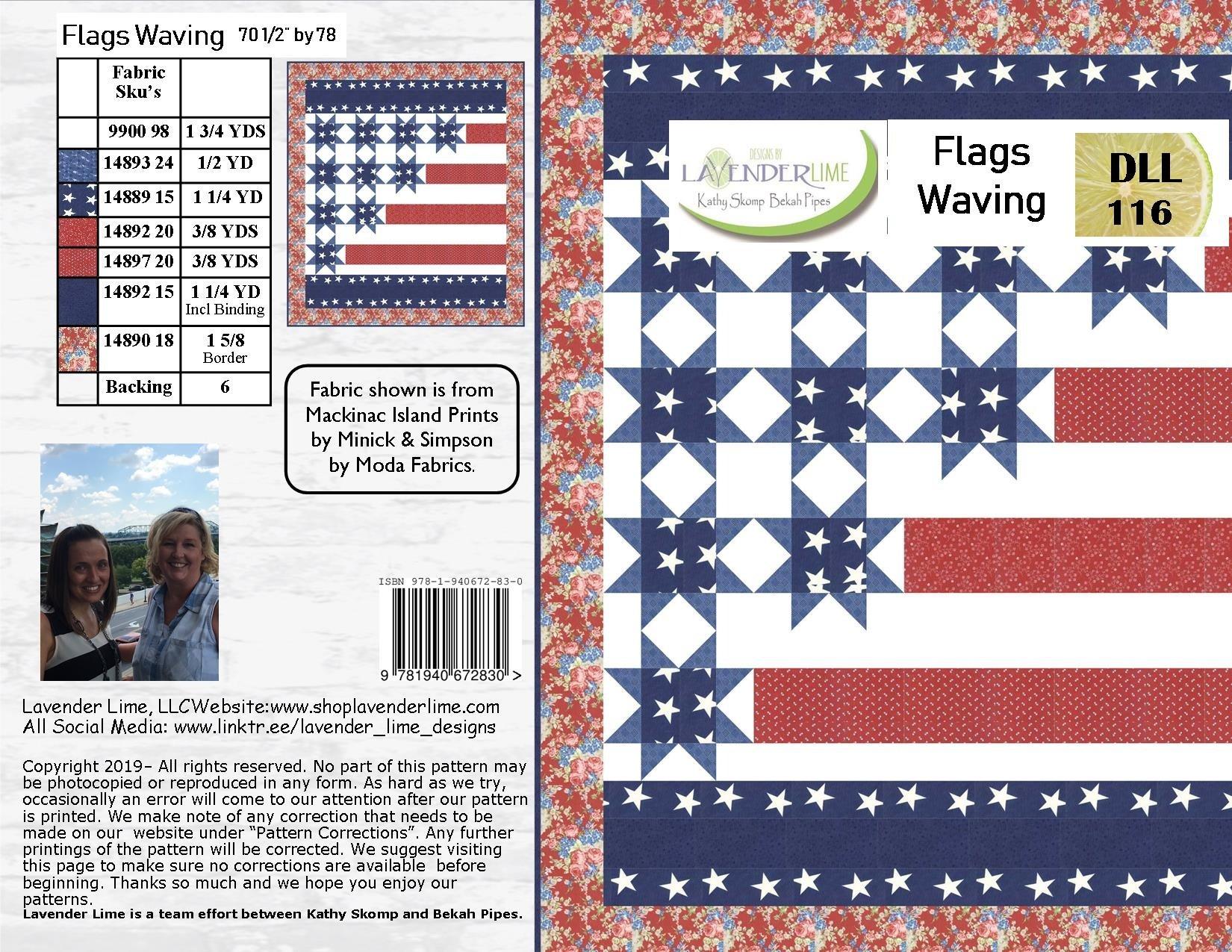 Flags Waving