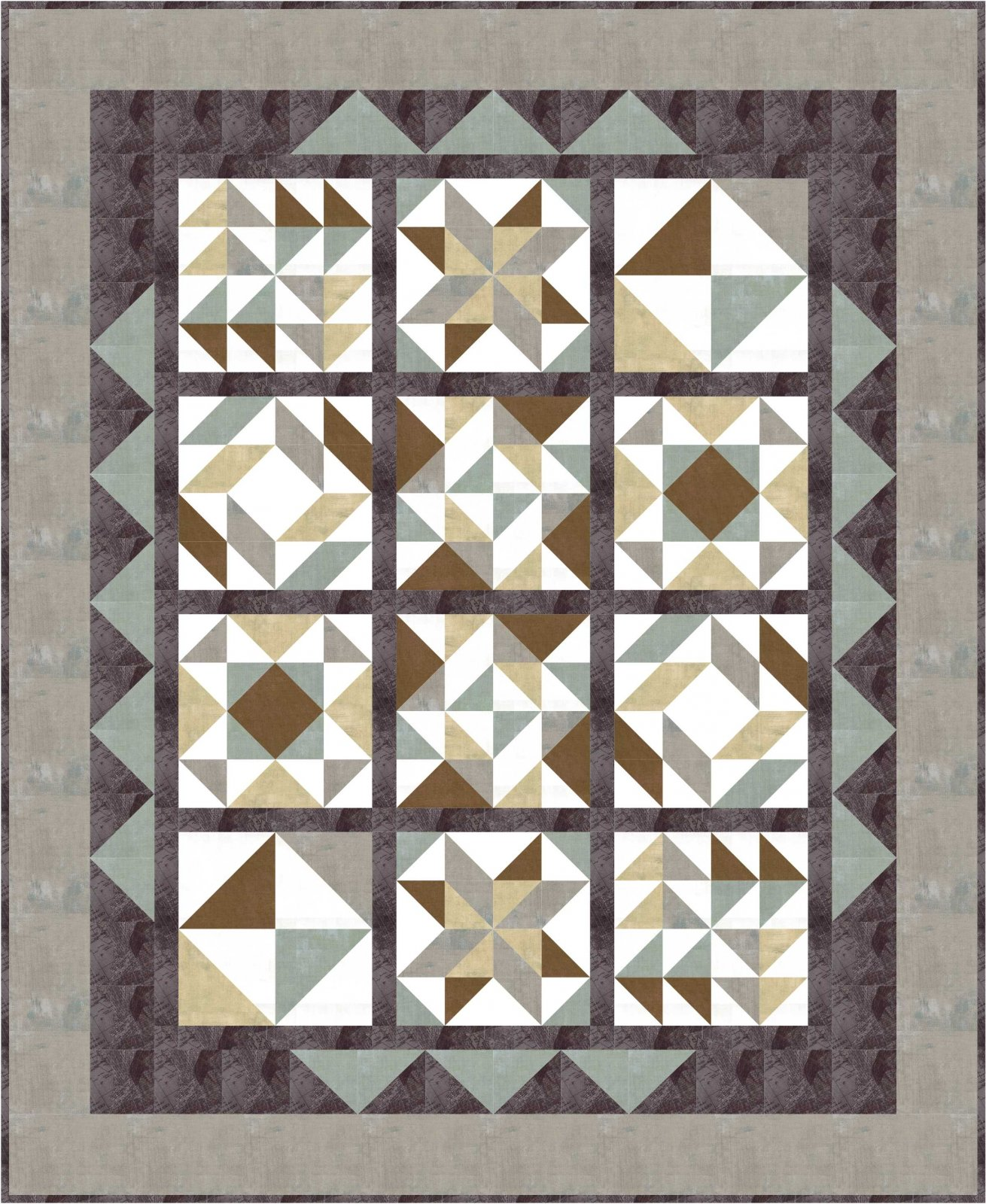 Setting Pattern for Mystery Mash Up- PDF Download- Inlcudes 2 sizes.