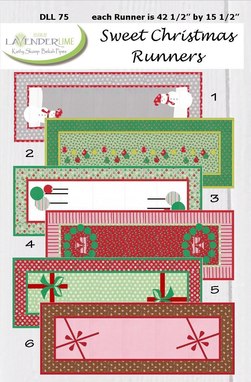 Sweet Christmas Runners PDF Download