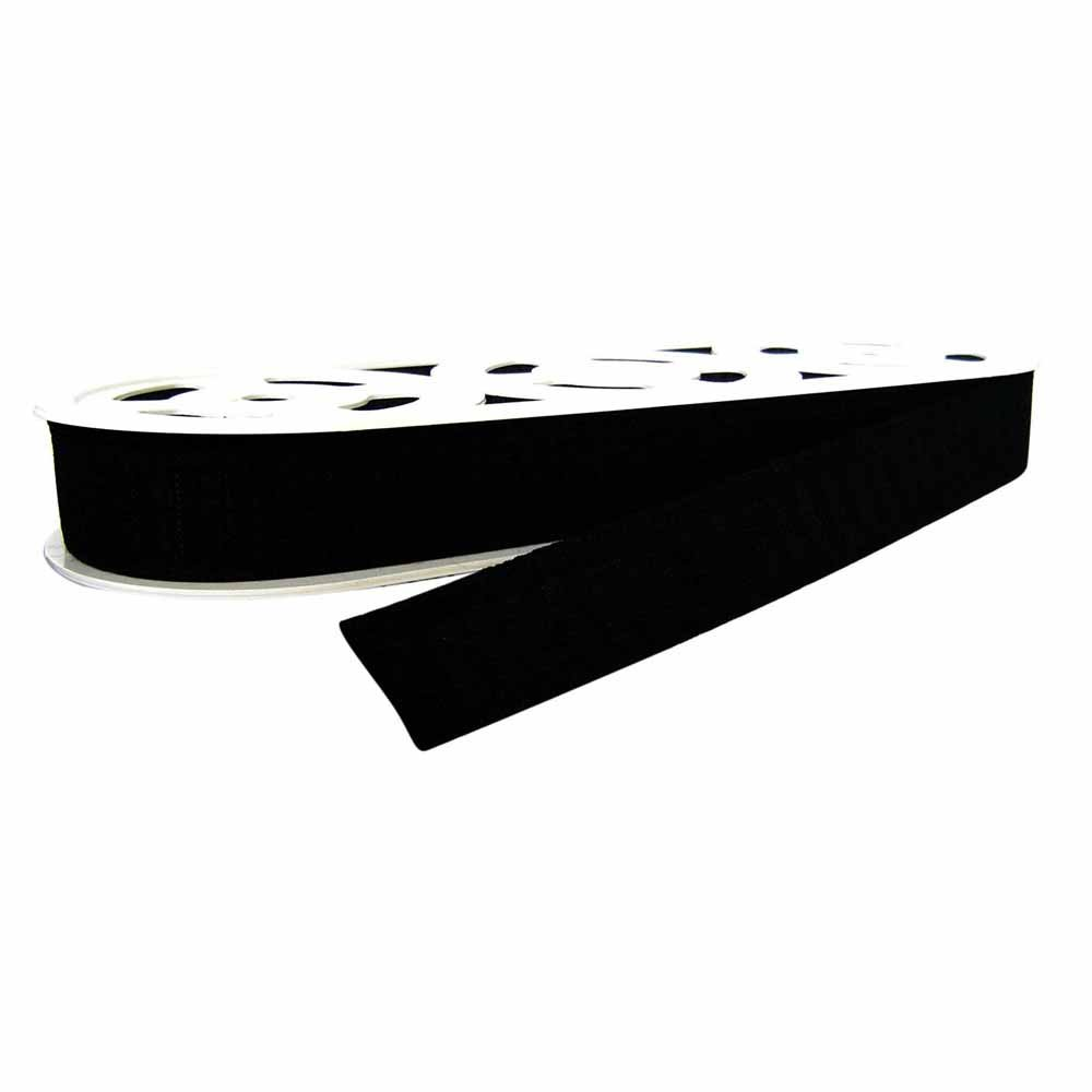 Unique Waistband  Elastic Black 25mm 70% Rubber 30% polyester
