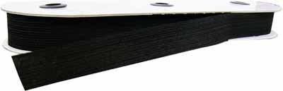 Belting Elastic | Black |  25 mm