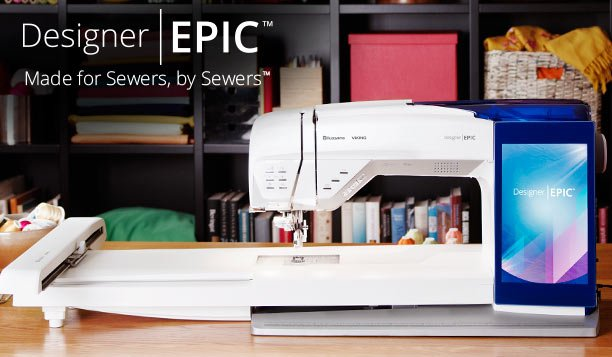 Husqvarna Epic Sewing & Embroidery Machine