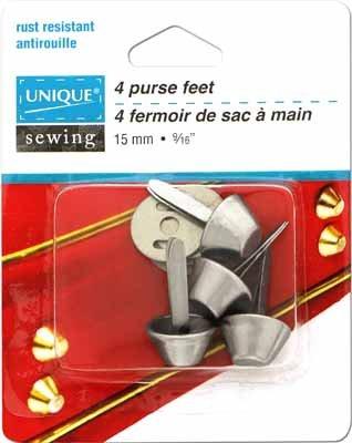 Purse Feet | 115mm | 4 Pcs | Silver