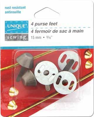 Purse Feet | 15mm | 4 Pcs |