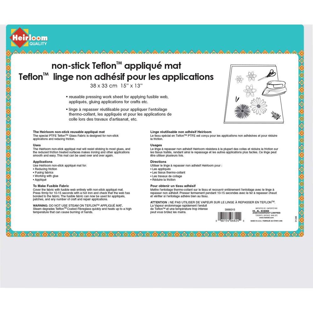 Non-Stick Teflon Applique Mat