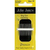John James Big Eye Quiltiing Needles Size 11