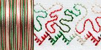 Sulky Cotton Blendables 30wt Thread 457m 4104 Christmas Trio