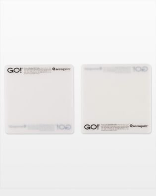 Go! Accuquilt Cutting Mat - 2 pack  6 x 6
