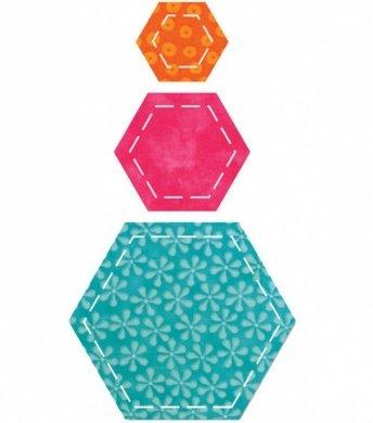 Accuquilt Go Cutting Die Hexagon 4.5 in