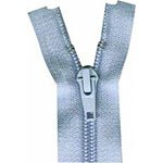 Activewear One Way Separating Zipper 23cm (9) Candy Blue