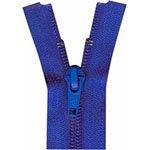Activewear One Way Separating Zipper 30cm (12) Victoria Blue