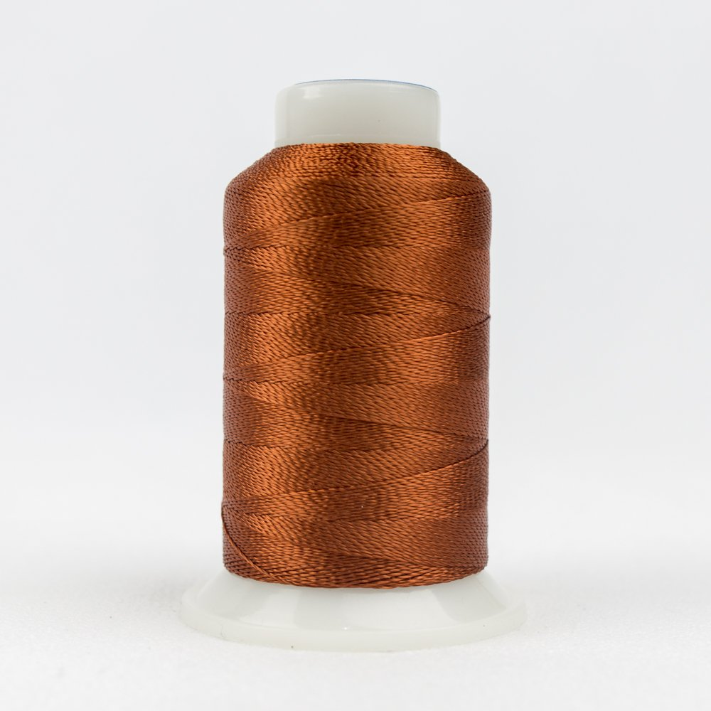 Accent 12 Wt Rayon 400M 7123 Dk Copper Brown
