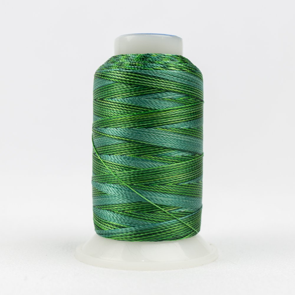 Accent 12 Wt Rayon 400M ACM03 Multi Greens