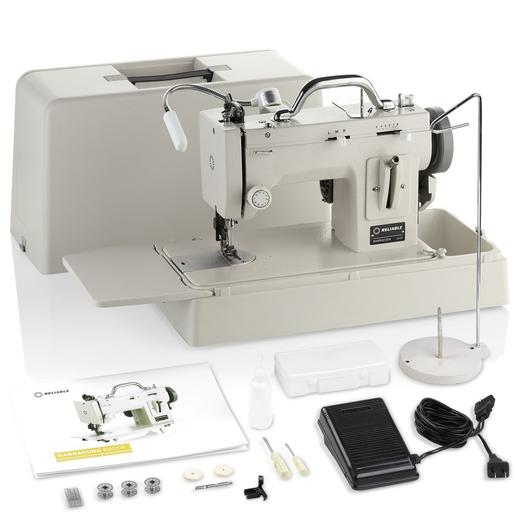 Barracuda 200ZW Portable Walking Foot Sewing Machine Journey kit